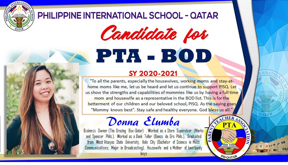 Candidate Elumba