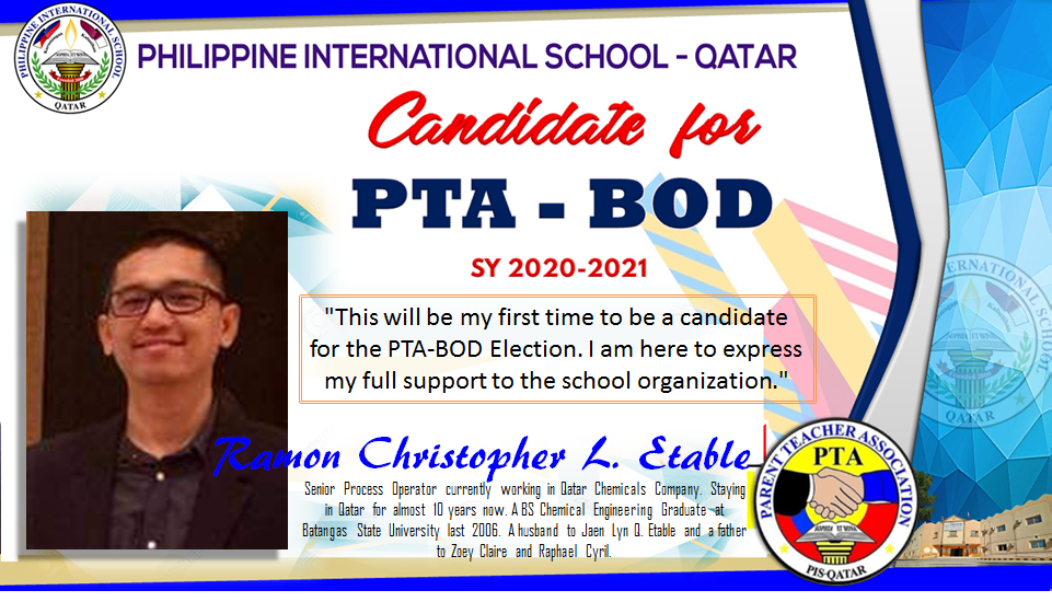 Candidate Etable