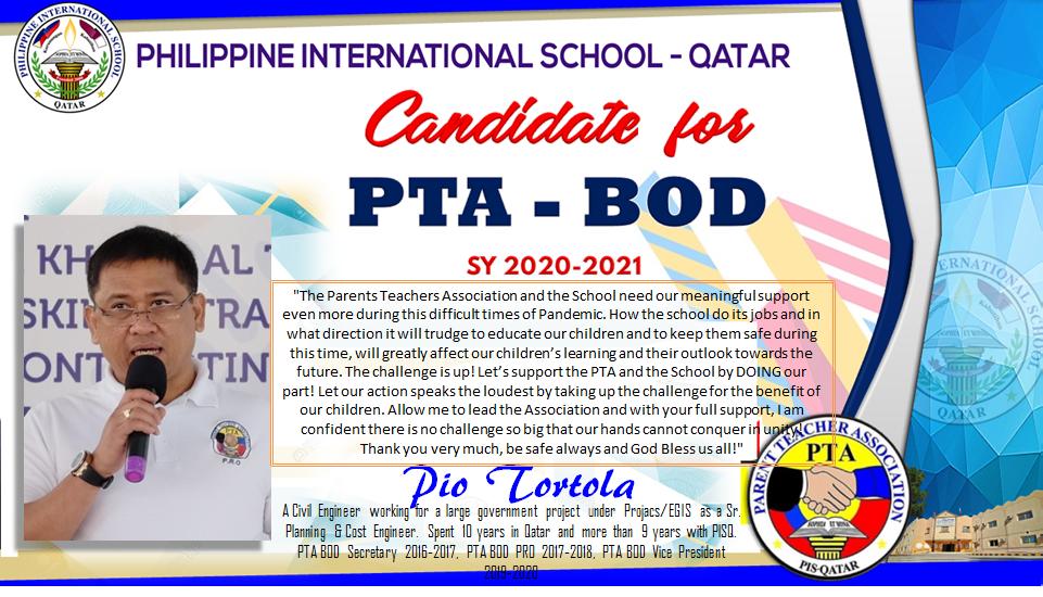 Candidate Tortola